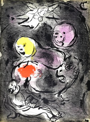 Marc CHAGALL (1887 - 1985), The Prophet Daniel with the Lions