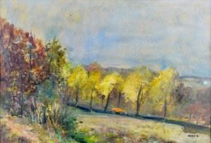 Irena WEISS – ANERI (1888-1981), Pejzaż jesienny I - Kalwaria, 1970