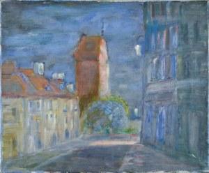 Henryk KRYCH (1905-1980), Pejzaż miejski