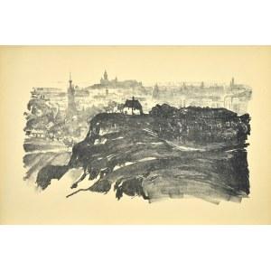 Jan Kanty GUMOWSKI (1883-1946), Widok ogólny Krakowa od południa
