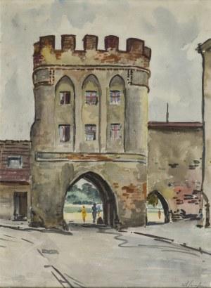 Władysław SERAFIN (1905-1988), Brama mostowa w Toruniu