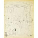 Eugeniusz ZAK (1887-1926), Na targu (Pont - Aven?)