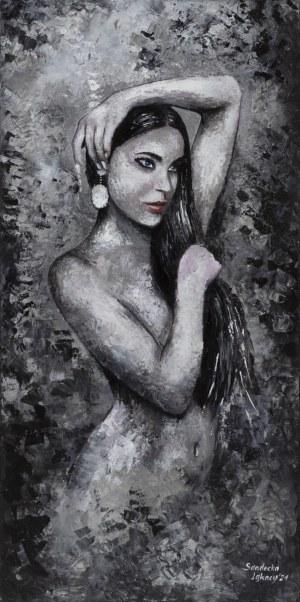 Anna Sandecka-Ląkocy, Out of dark..., 2021