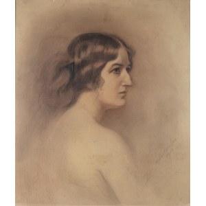Zofia Atteslander (1874 Luborzyce – po 1928), Portret kobiety, 1914 r.