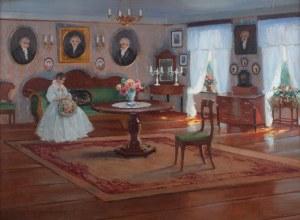 Bronisława Rychter-Janowska (1868 Kraków - 1953 tamże), W saloniku