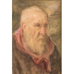Teodor Axentowicz (1859 Braszów/Rumunia - 1938 Kraków), Portret mężczyzny