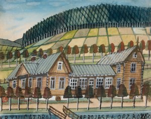 Nikifor Krynicki (1895 Krynica-1968 Folusz), Krynica Zdrój