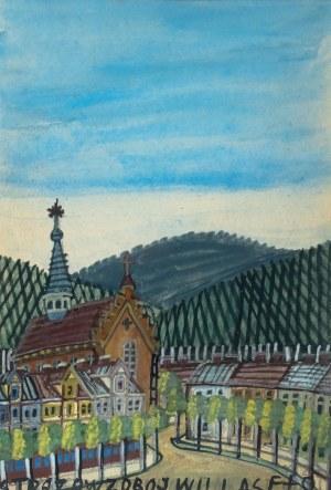 Nikifor Krynicki (1895 Krynica-1968 Folusz), Miasteczko