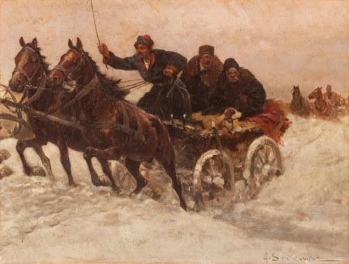 Adam Setkowicz (1875 Kraków - 1945 tamże), Zaprzęg
