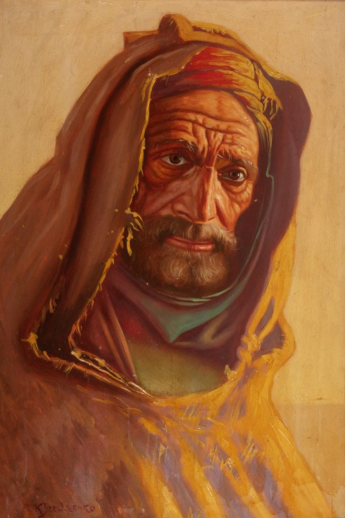 Konstanty Szewczenko (1910 Warszawa-1991 tamże), Arab