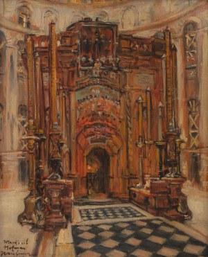 Wlastimil Hofman (1881 Praga - 1970 Szklarska Poręba), Jerozolima. Grób Pański