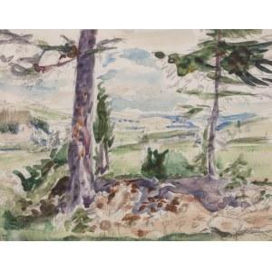Wlastimil Hofman (1881 Praga - 1970 Szklarska Poręba), Górski pejzaż