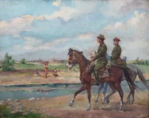 Juliusz Słabiak (1917 Sosnowiec - 1973 Kraków), Nad brzegiem rzeki