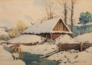 Stanisław Gibiński (1882 Rzeszów – 1971 Katowice), Nad rzeką