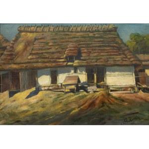 Mieczysław Korwin-Piotrowski (1869 Kamieniec Podolski - 1930 Lwów), Chata, 1905 r.