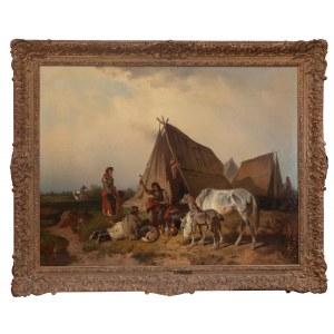 Adolf van der Venne (1828 Wiedeń - 1911 Schweifurt), Kotlarz na puszcie