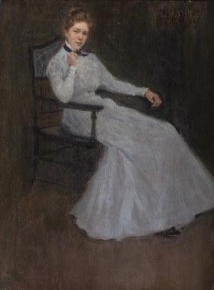 Malarz nieokreślony (XX w.), Portret kobiety