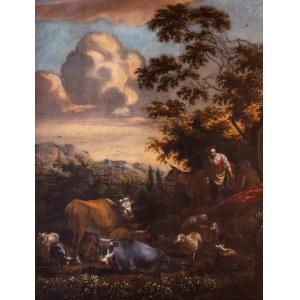 Malarz nieokreślony (XVIII w.), Scena rodzajowa