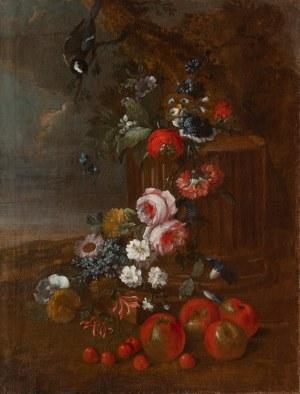 Malarz nieokreślony (XVIII w.), Martwa natura z kwiatami