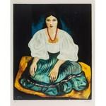Mojżesz Kisling (1891 Kraków - 1953 Sanary-sur-Mer), Cyganka