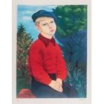 Mojżesz Kisling (1891 Kraków - 1953 Sanary-sur-Mer), Chłopiec w berecie