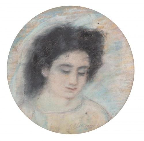 Stanisław Eleszkiewicz (1900 Czutowo k. Połtawy - 1963 Paryż), Portret kobiety, 1953 r.