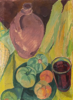 Leopold Gottlieb (1883 Drohobycz - 1934 Paryż), Martwa natura, 1923 r.