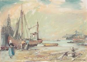 Marian Mokwa (1889 Malary - 1987 Sopot), Port