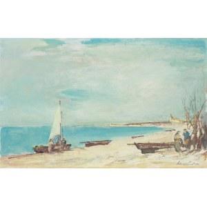 Marian Mokwa (1889 Malary - 1987 Sopot), Nad brzegiem
