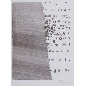 Jan Tarasin (1926 Kalisz - 2009 Warszawa), Kompozycja