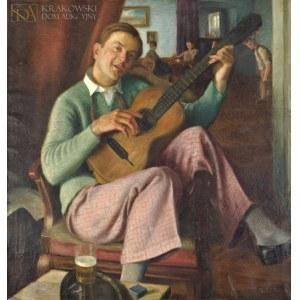 Bogusław SERWIN (1882-1956), Mnie nie jest źle, choć pozostałem sam (1929)