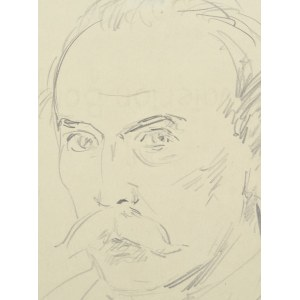 Wlastimil HOFMAN (1881-1970), Autoportret (1944)