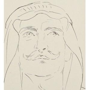 Wlastimil HOFMAN (1881-1970), Portret Araba