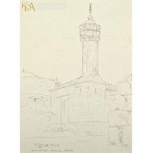 Wlastimil HOFMAN (1881-1970), Meczet Sheikh Jarrah w Jerozolimie (1942)
