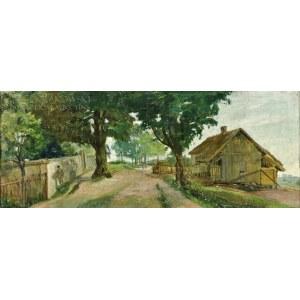 Piotr NIZIŃSKI (1858-1919), Wiejska droga