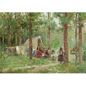 Adam SETKOWICZ (1876-1945), Obóz cygański