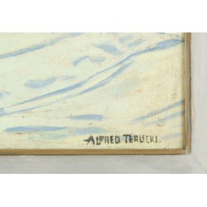 Alfred TERLECKI (1883-1973), Zimowy pejzaż tatrzański