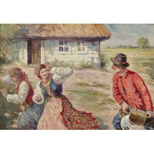 Wojciech BETLEY (1867-1920), Śmigus (1913)