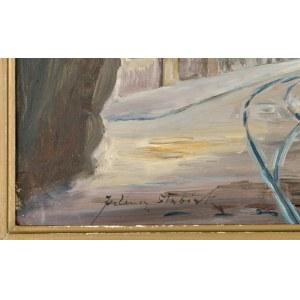 Juliusz SŁABIAK (1917-1973), Widok na ul. Floriańską