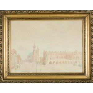 Franciszek TUREK (1882-1947), Rynek Główny w Krakowie