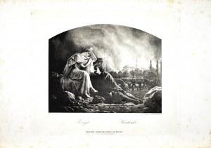 Artur GROTTGER (1837-1867), Pożoga