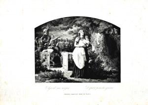 Artur GROTTGER (1837-1867), Odjazd na wojnę