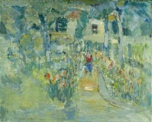 Henryk KRYCH (1905 – 1980), W ogrodzie