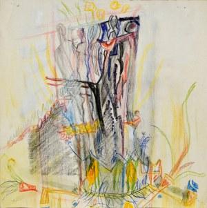 Janina MUSZANKA - ŁAKOMSKA (1920-1982), Kompozycja abstrakcyjna, ok. 1966