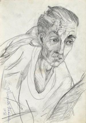 Janina MUSZANKA - ŁAKOMSKA (1920-1982), Portret Cz. Szygalskiego, 1981