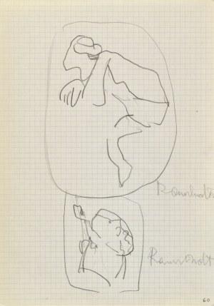 Jerzy PANEK (1918-2001), Szkice z dawnego malarstwa - Rembrandt