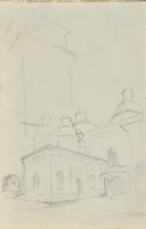 Józef PIENIĄŻEK (1888-1953), Kopuły kaplic