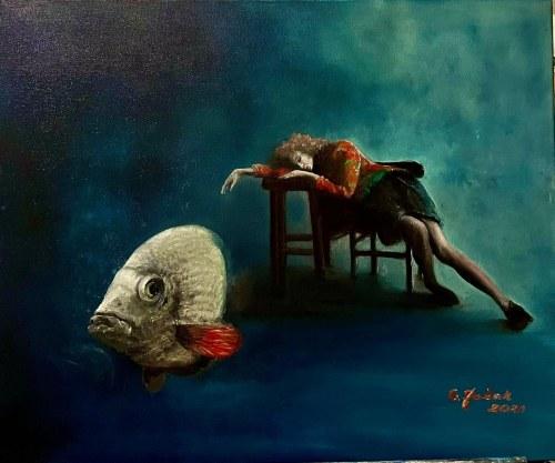 Grażyna Jeżak, To sen o złotej rybce, 2021