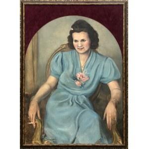 Janusz Paweł Janowski, Portret kobiety, 1943