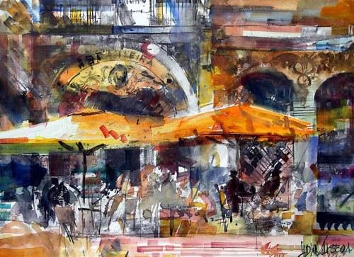 Krzysztof Ludwin, Szarości Lizbony z cyklu Nerwowy Ekspresjonizm, 2021